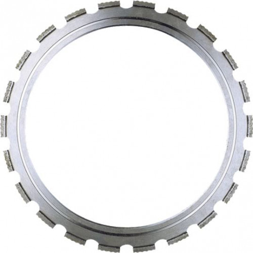 Diamond ring blade series DAU for mixed materials, concrete