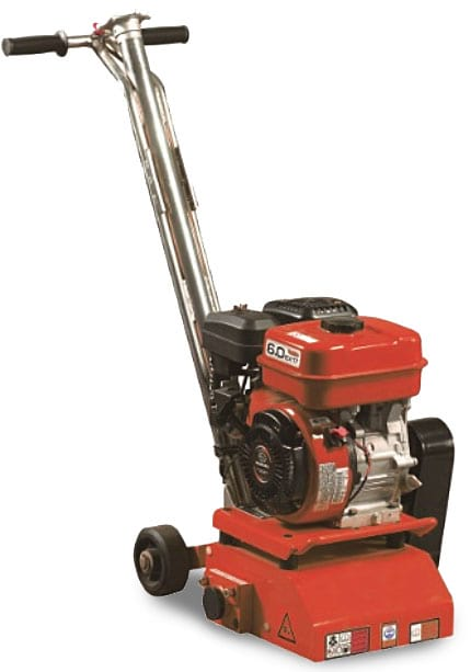 Scarifying machine SP 200A for floors motor thrree-phase